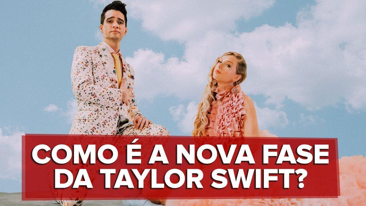 Taylor Swift começa nova fase com 'Me', com refrão difícil de cantar e pop fácil de ouvir