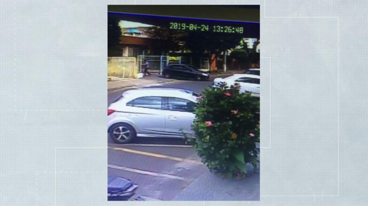 Vídeo mostra pai de menina chegando no imóvel onde o corpo foi encontrado em Rolândia