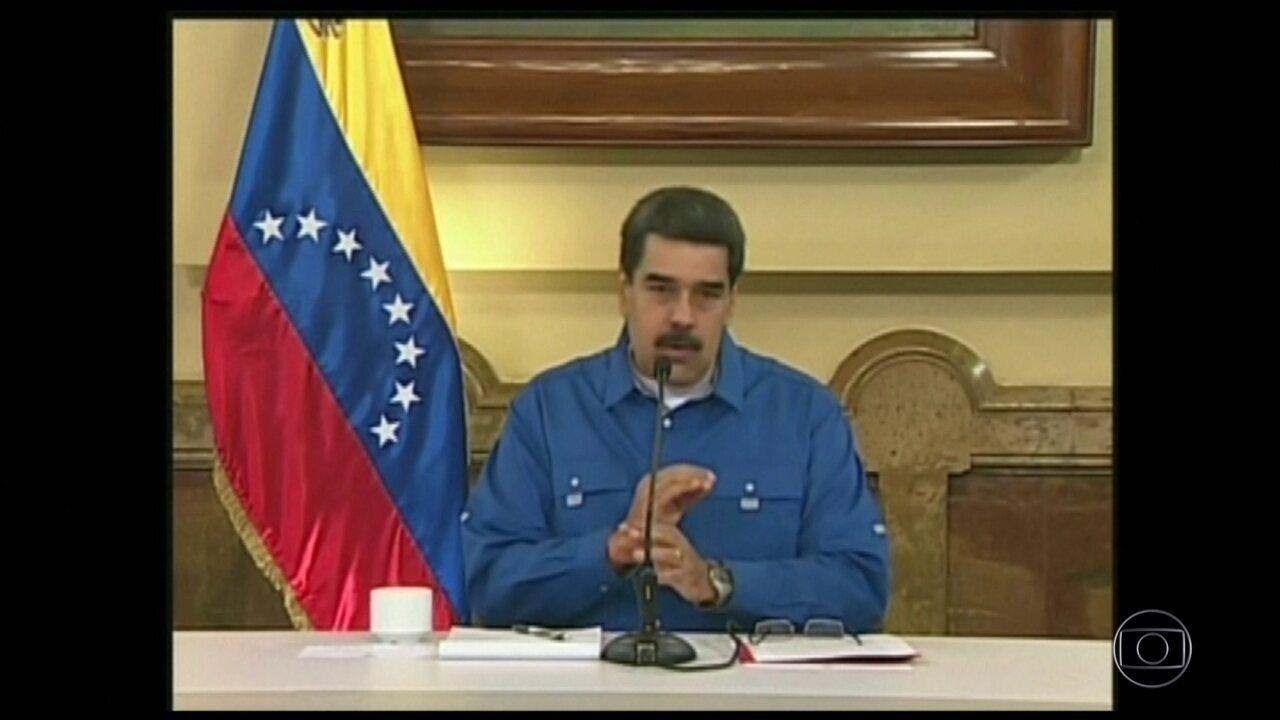 Maduro afirma que mantém o apoio das Forças Armadas e sairá vencedor