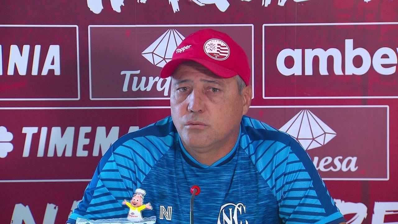 Márcio Goiano pondera utilização de Danilo Pires contra o Imperatriz-MA