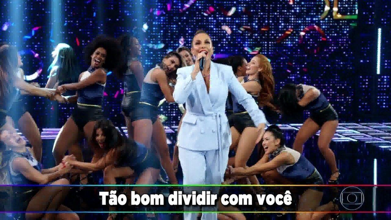 Ivete Sangalo canta 'Tempo de Alegria'