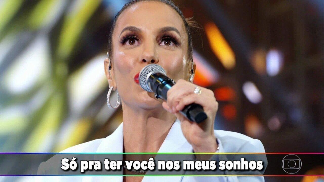 Ivete Sangalo canta 'Deixo'