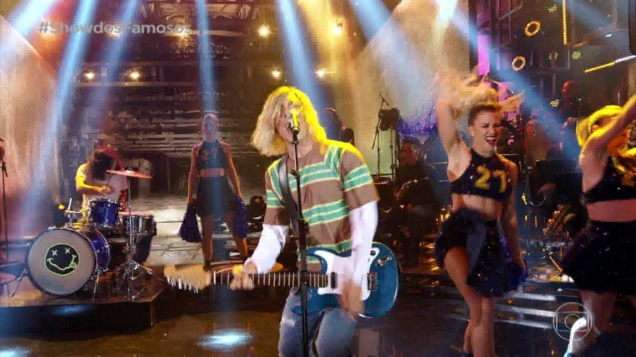 Di Ferrero interpreta Kurt Cobain