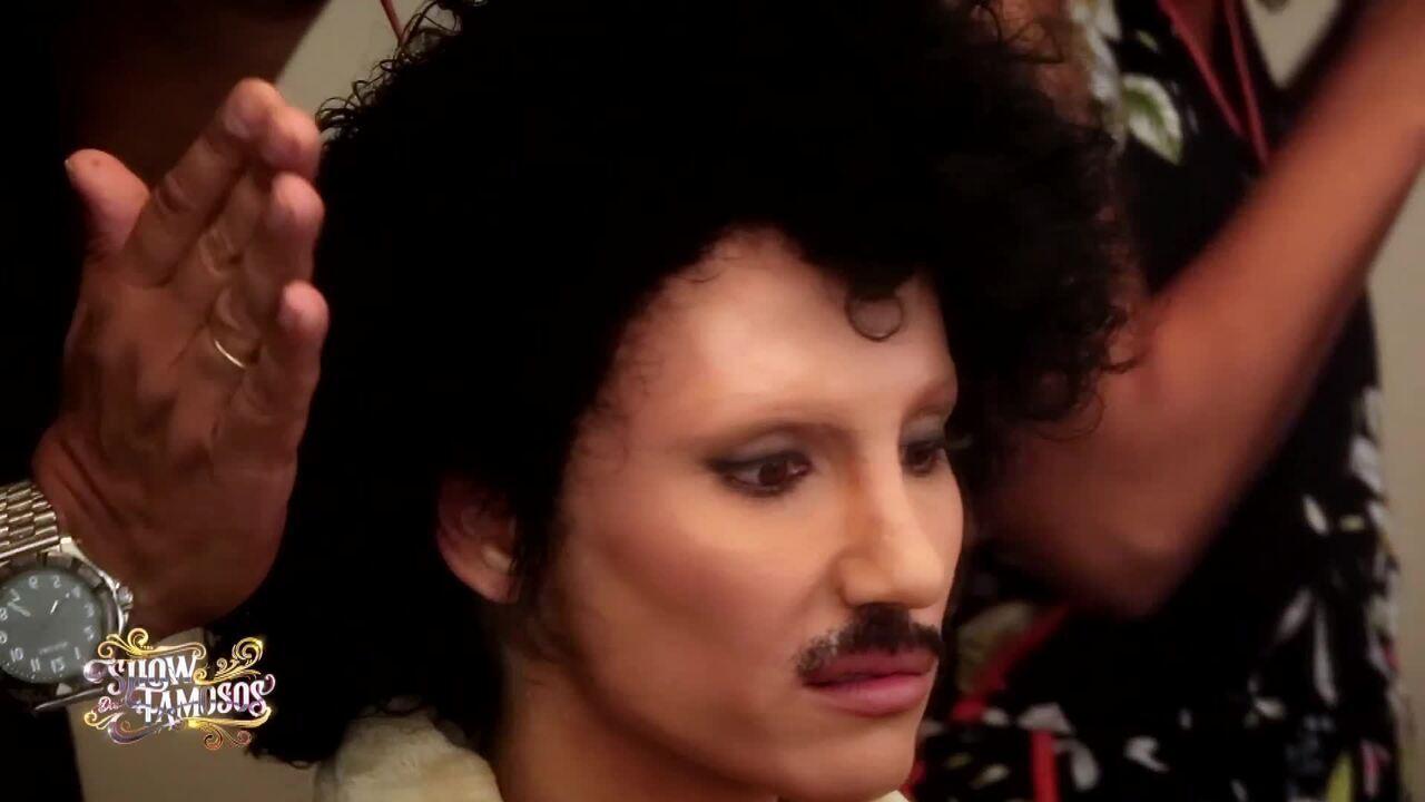 Relembre como foi a preparação de Mel Fronckowiak para homenagear Prince no 'Show dos Famosos'