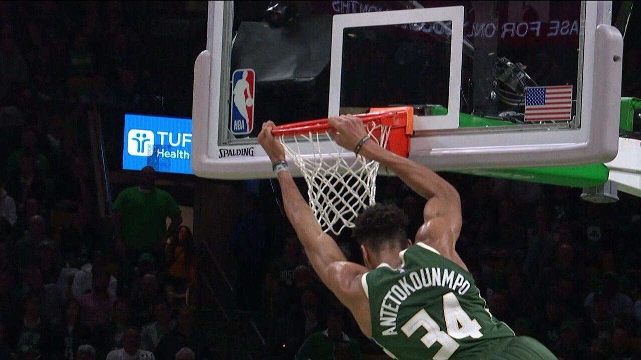 Melhores momentos de Boston Celtics 101 x 113 Milwaukee Bucks pela NBA