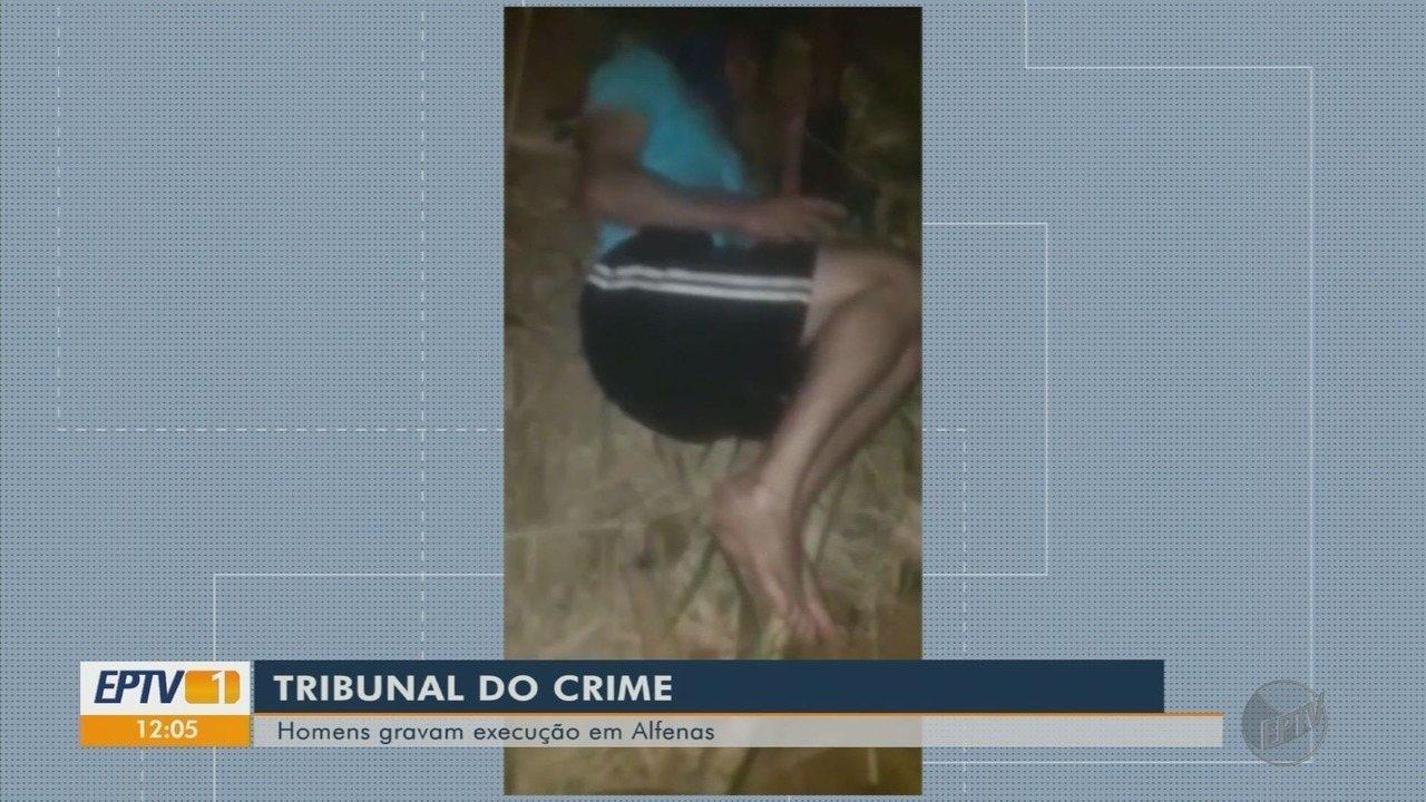 Polícia acredita que execução em Alfenas tenha relação com 'tribunal do crime'