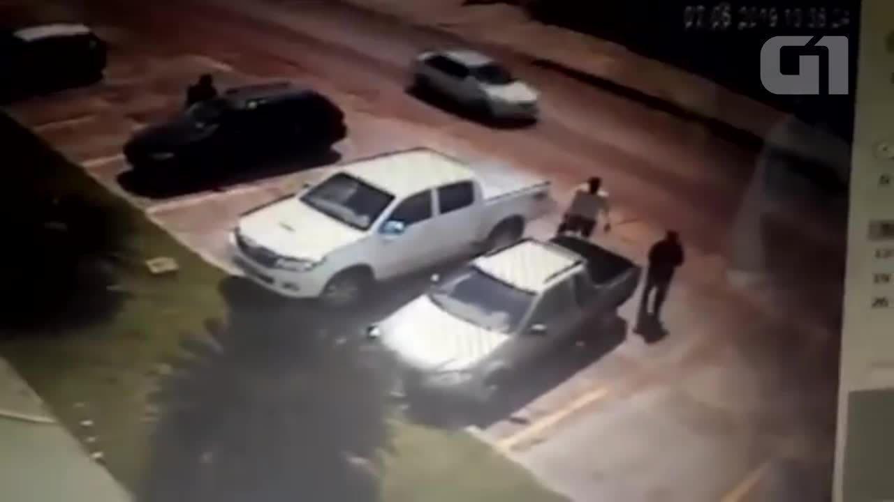 Vídeo mostra procurador sendo assassinado a tiros em Cacoal, RO