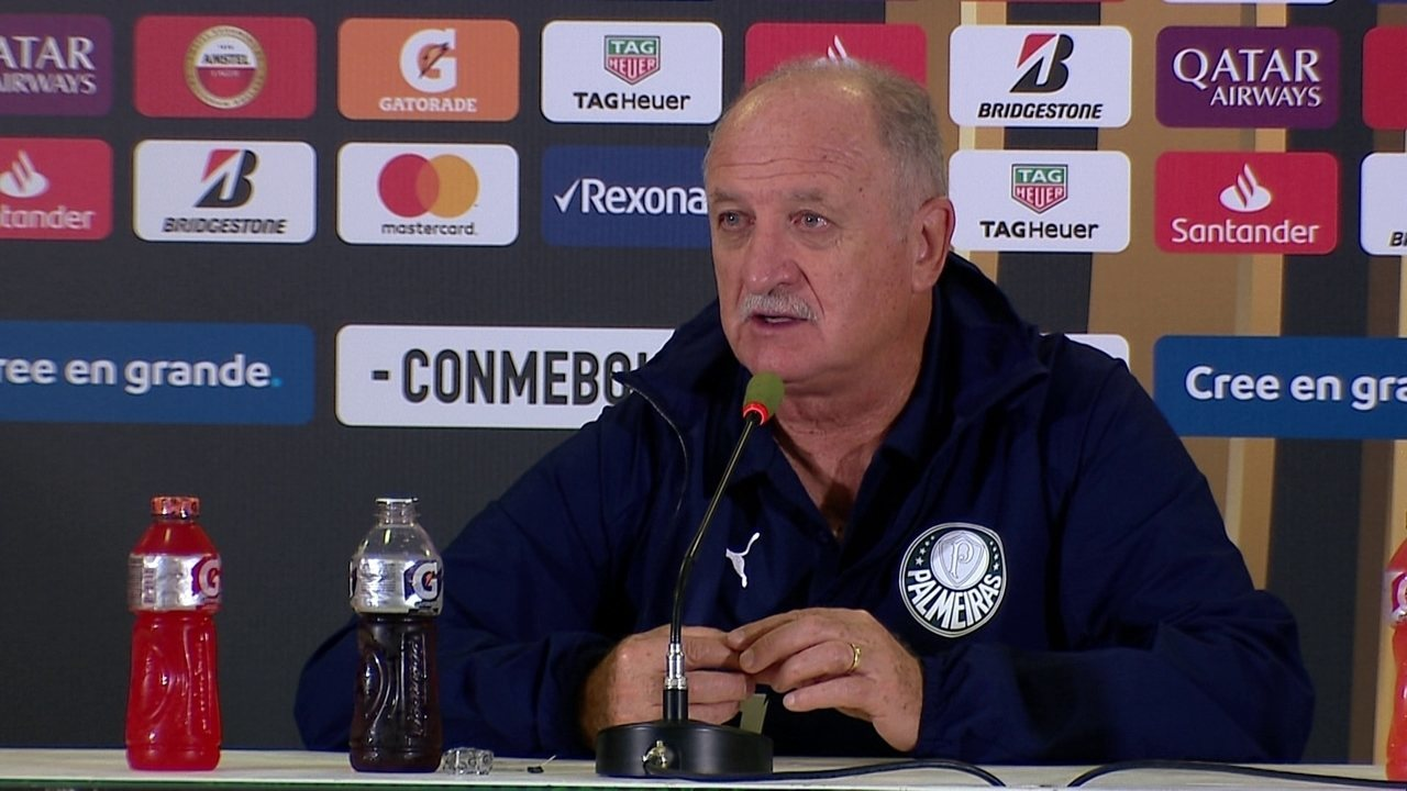 Palmeiras 1 x 0 San Lorenzo: veja a coletiva de Felipão