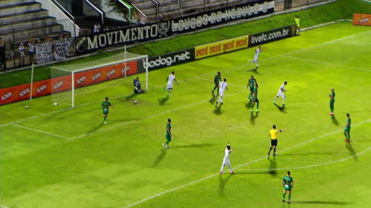 Altos perde para o ABC por 2 a 0 e é eliminado na pré-Copa do Nordeste; veja os gols