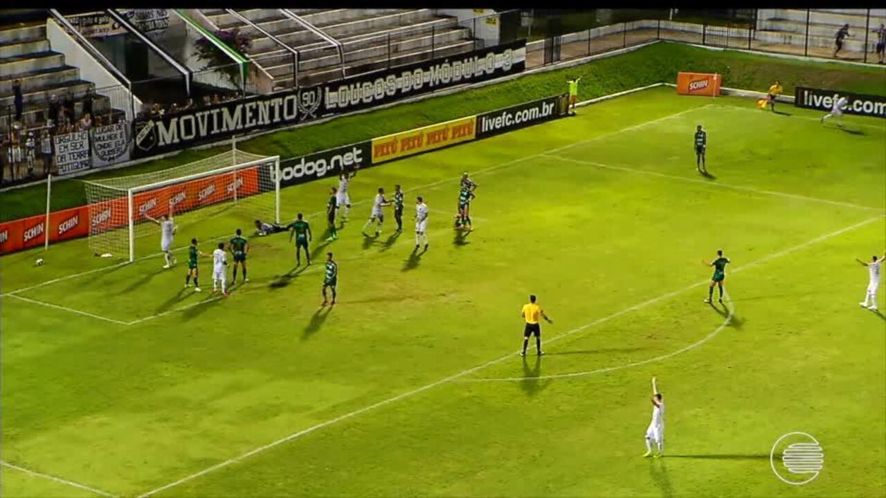 ABC vence o Altos por 2 a 0 e se classifica para a Copa do Nordeste de 2020