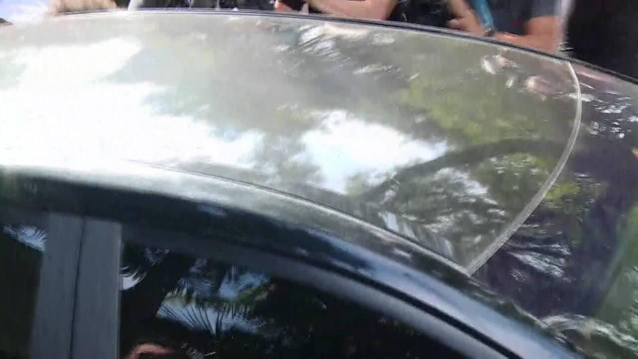 Ex-presidente Temer deixa sua casa em SP e segue para a Policia Federal
