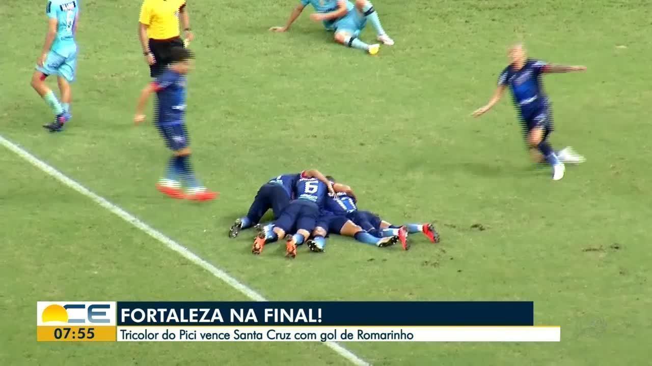 Fortaleza vence o Santa Cruz e está na final da Copa do Nordeste
