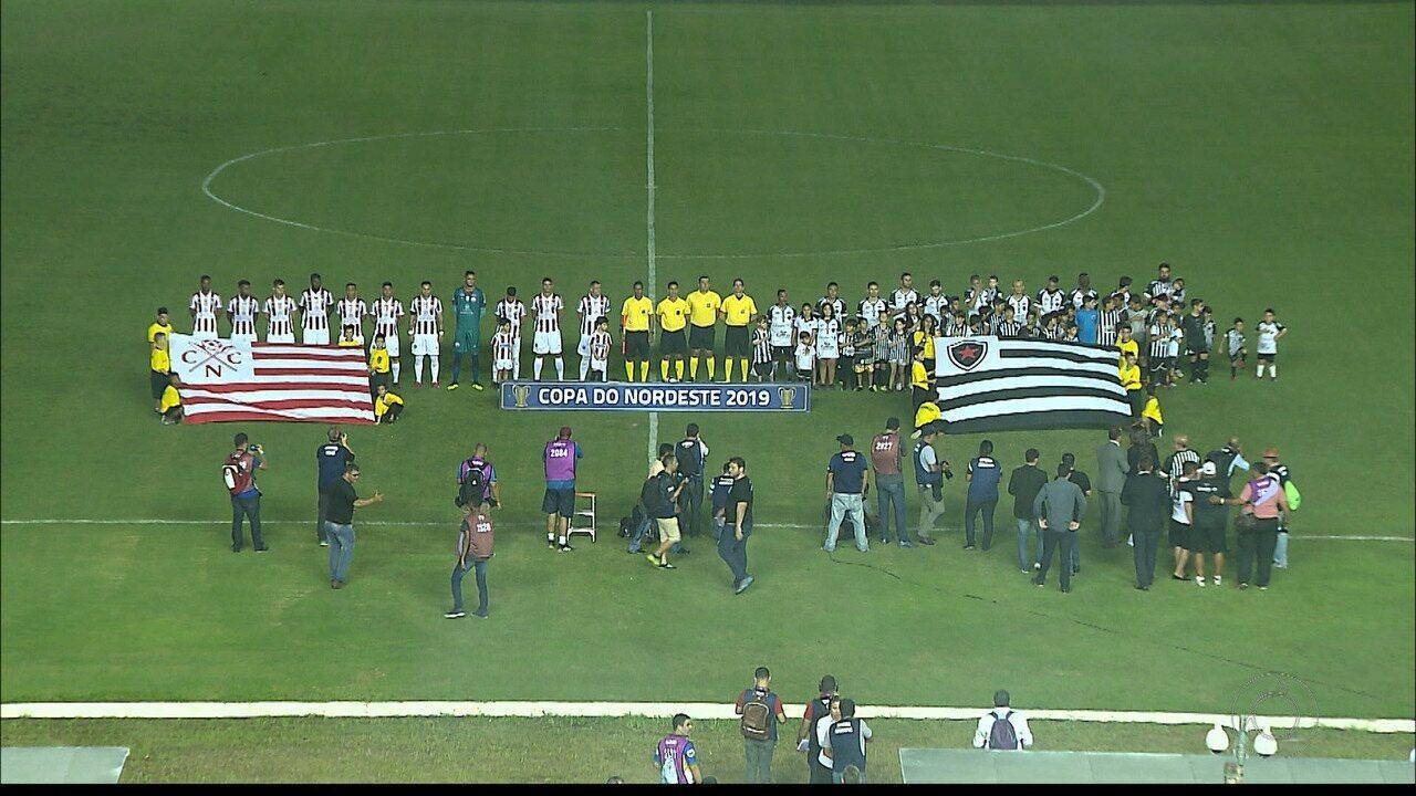 Veja os melhores momentos de Botafogo-PB x Náutico, pela Copa do Nordeste