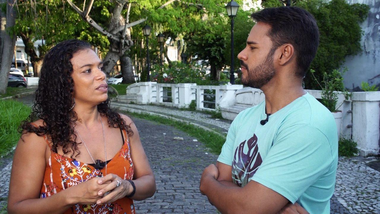 Pablo bate um papo com a dançarina Janahina Cavalcante sobre como a arte mudou a vida dela