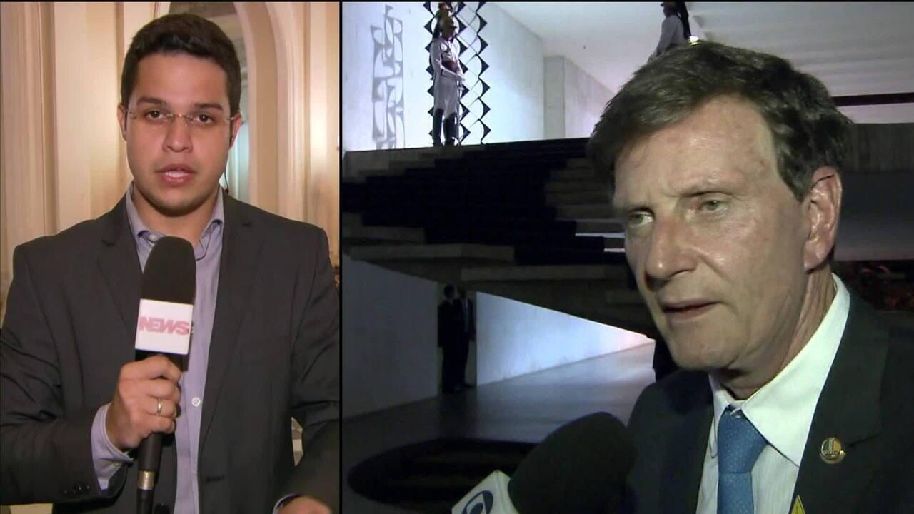 Testemunhas no processo de impeachment de Crivella prestam depoimento na Câmara do Rio
