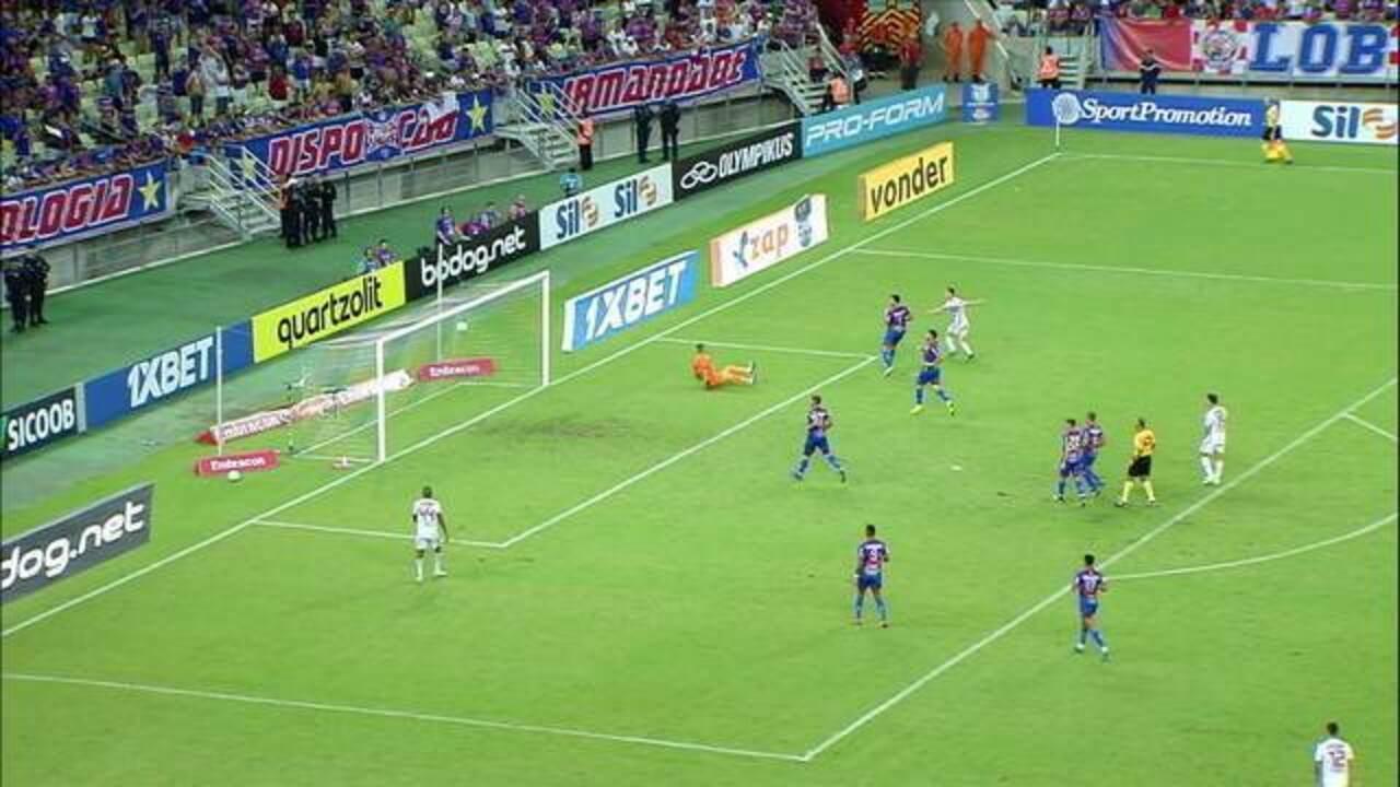 Melhores momentos de Fortaleza 0 x 1 São Paulo pela 4ª rodada do Campeonato Brasileiro