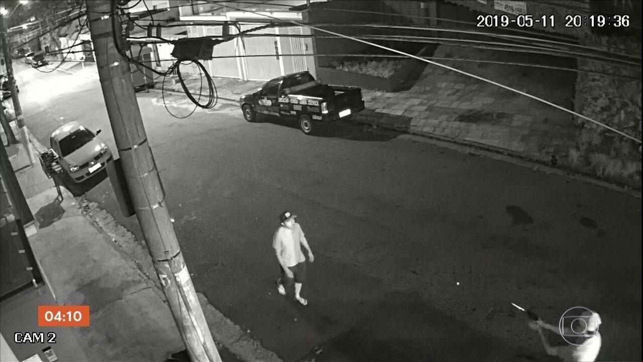 Polícia busca homem que atirou e matou um morador de rua em Santo André, SP