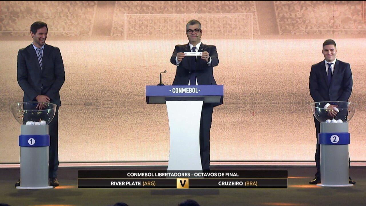Confira como foi o sorteio da Libertadores