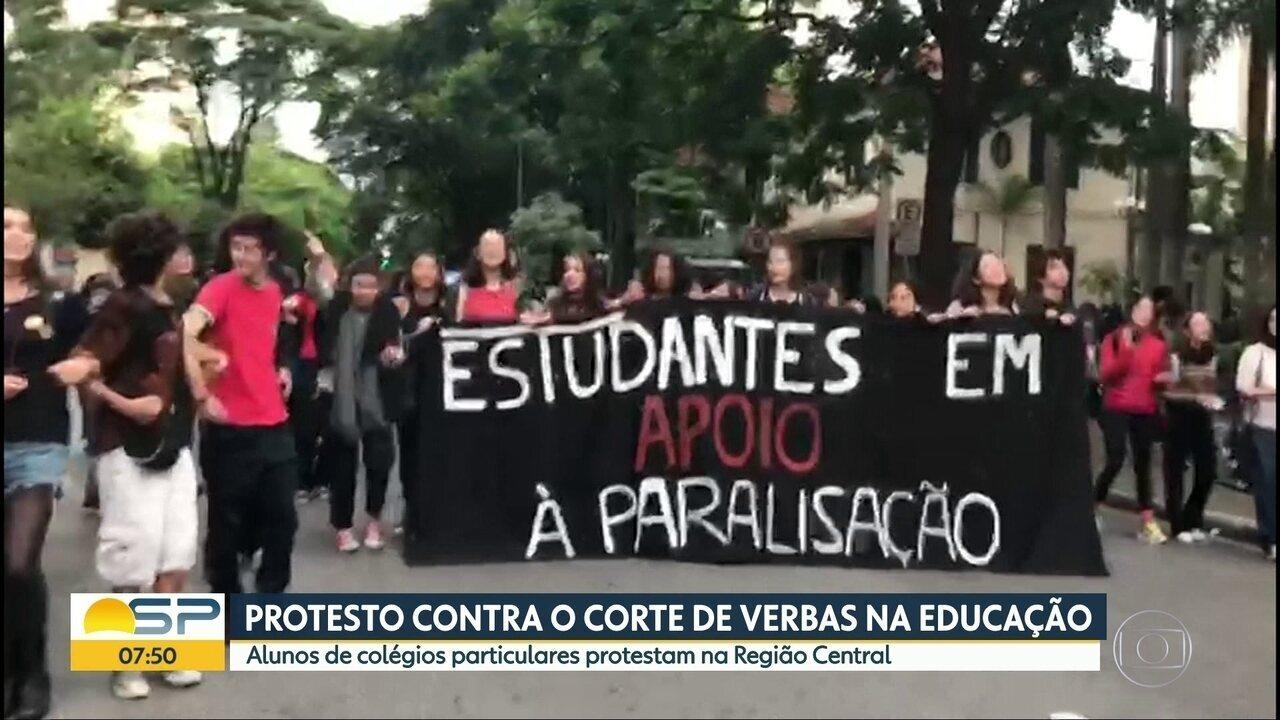 Protestos acontecem por várias cidades do país