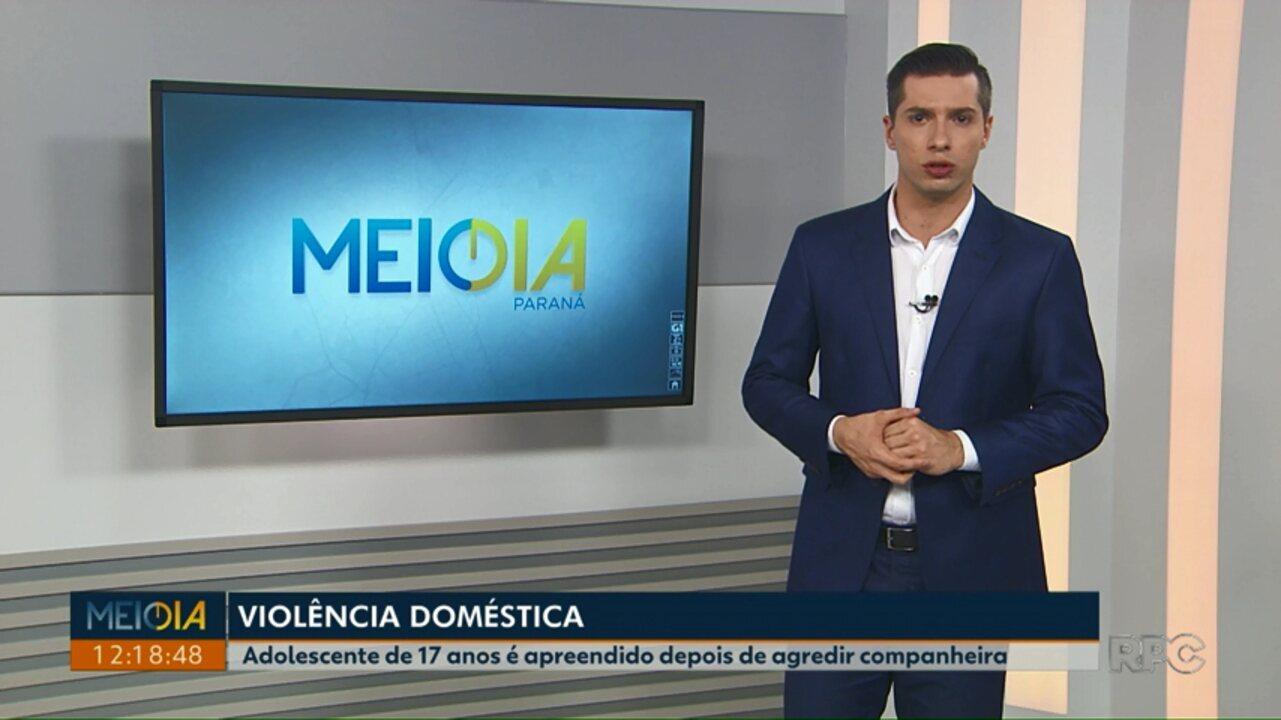 Polícia apreende adolescente suspeito de agredir esposa em Ponta Grossa
