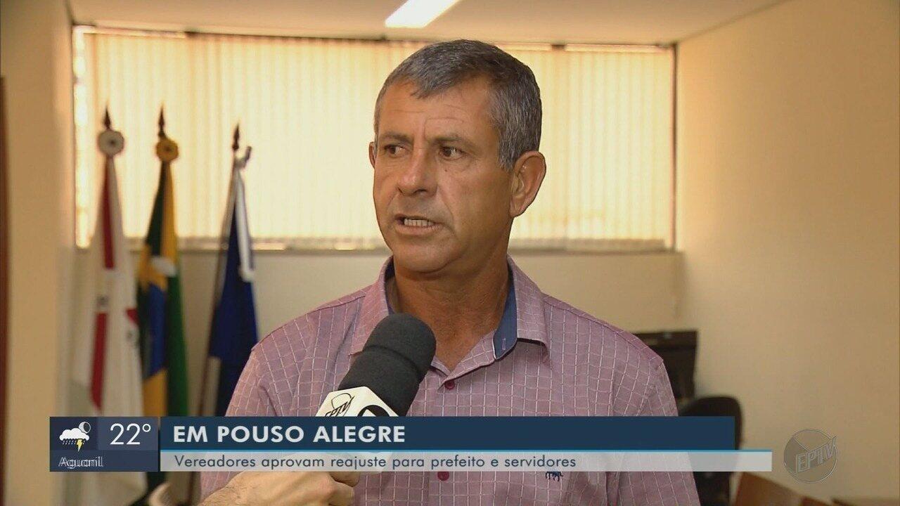 Câmara aprova reajuste de servidores, prefeito, vice e secretários em Pouso Alegre