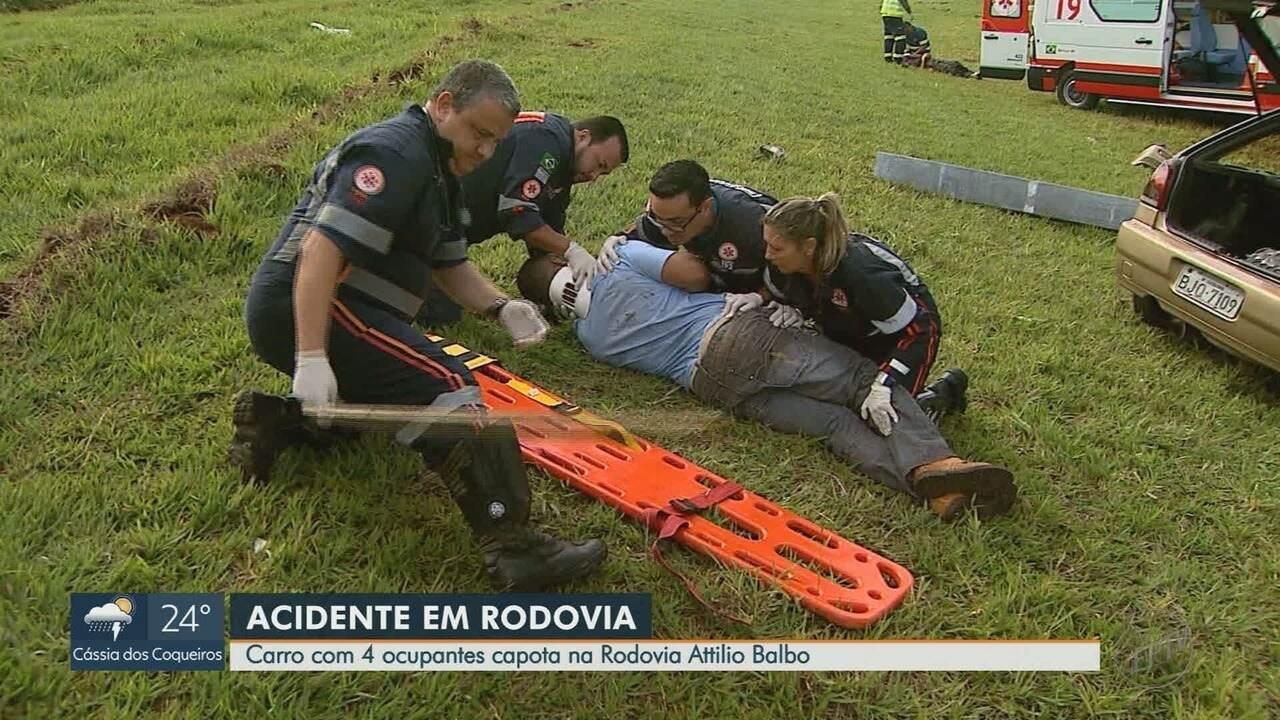 Homem morre atropelado na Rodovia Abrão Assed próximo a Serrana, SP