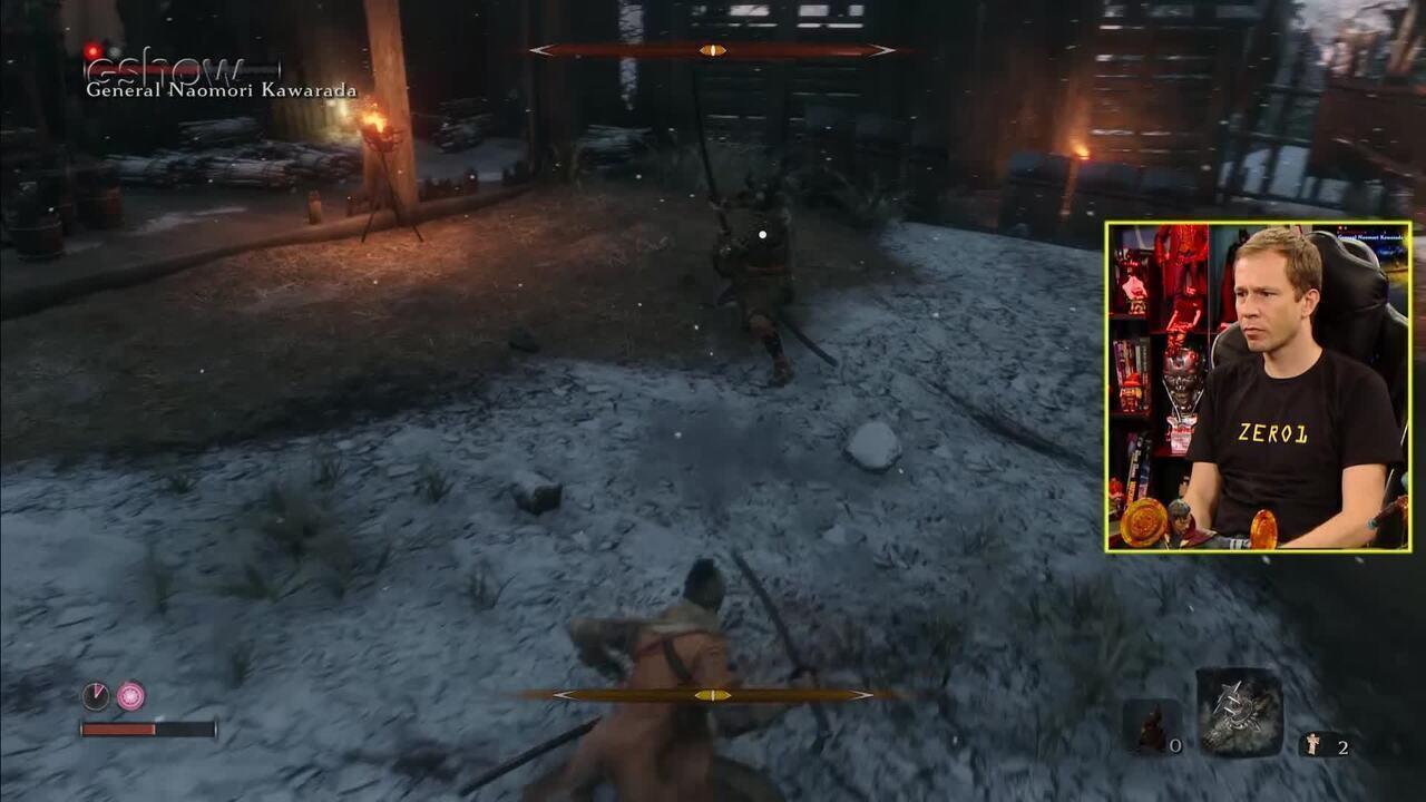 Confira o gameplay estendido de 'Sekiro: Shadows Die Twice' com Tiago Leifert no 'Zero1'
