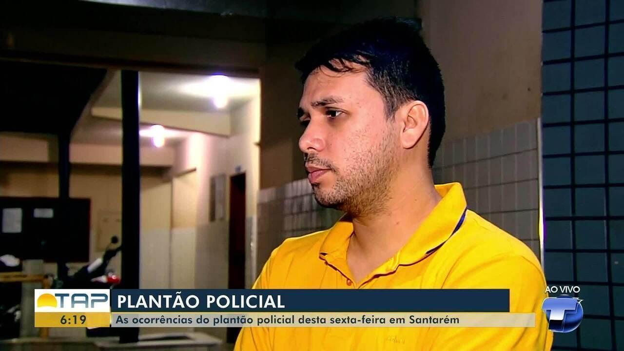 'Giro Policial': veja as ocorrências registradas na delegacia no plantão em Santarém