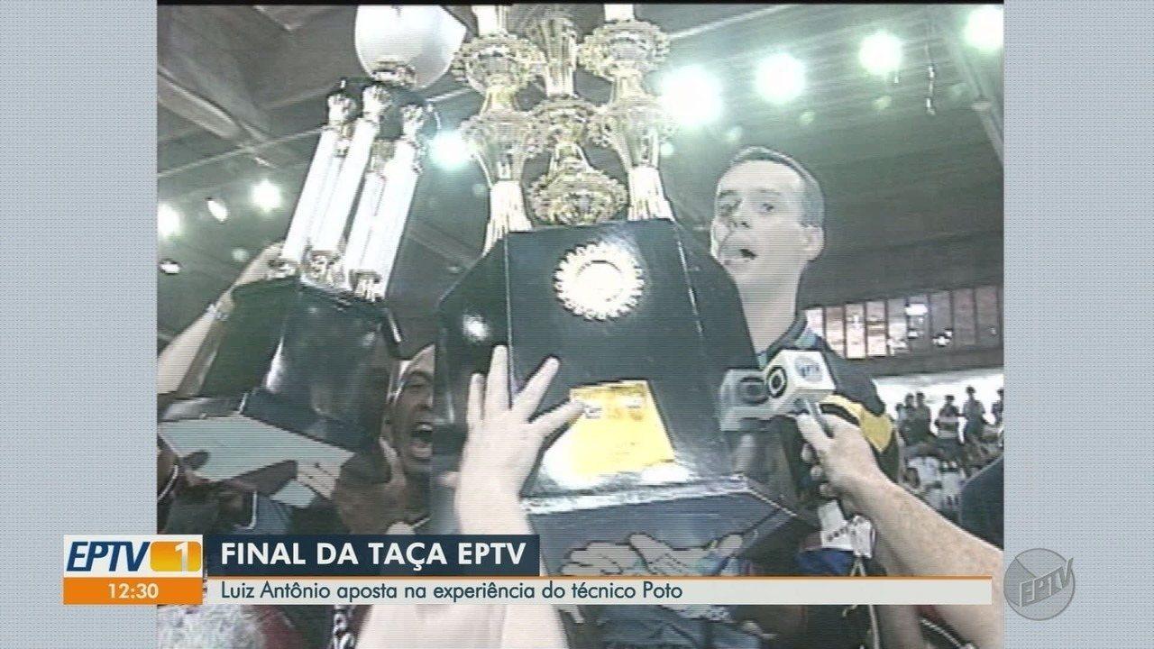 Luiz Antônio tenta o tricampeonato na Taça EPTV de Futsal Ribeirão