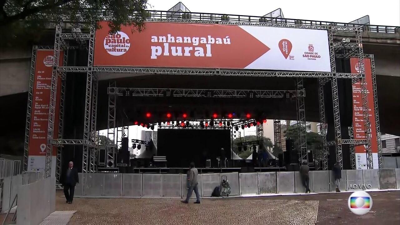 Virada Cultural começa neste sábado (18) em São Paulo e terá mais de 1,2 mil atrações