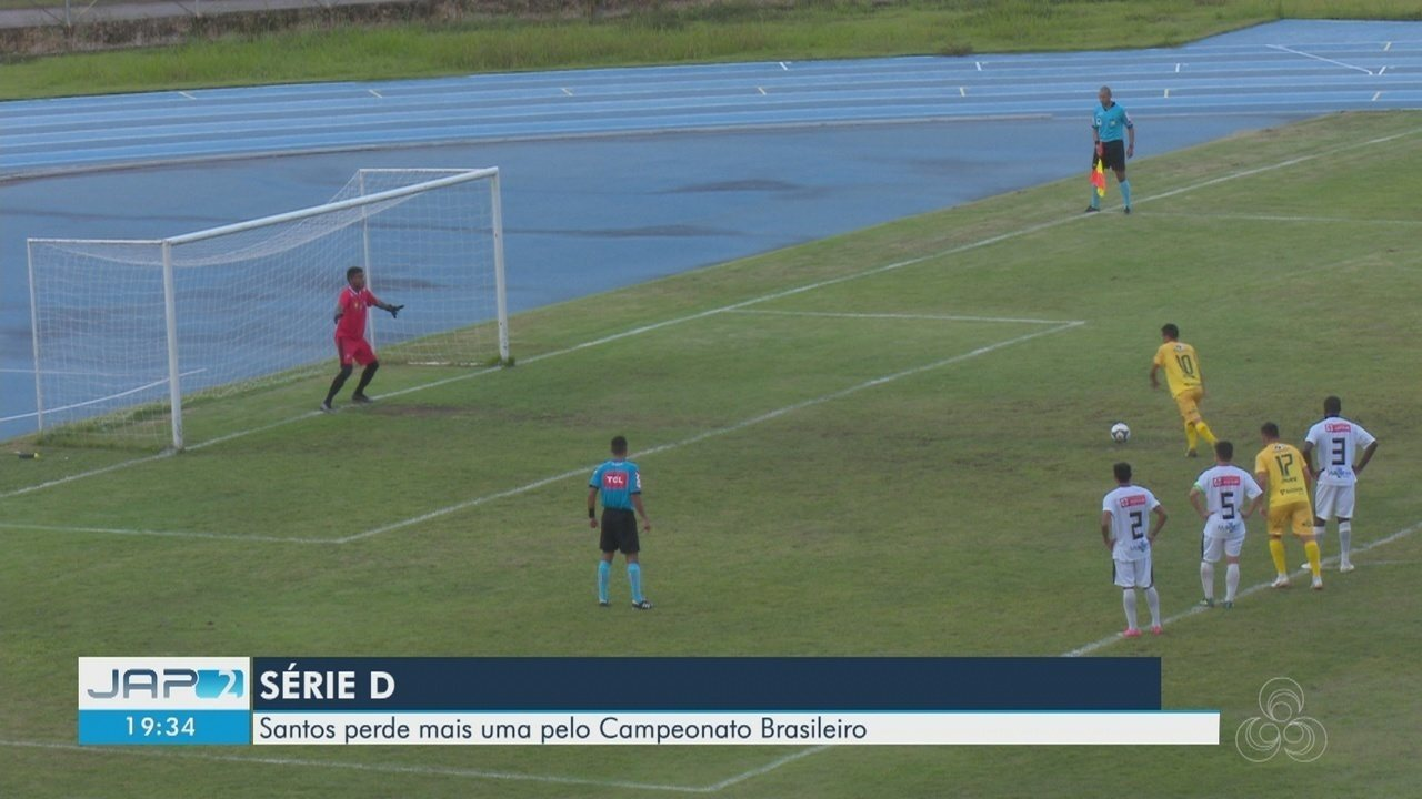 Santos do AP perde para Galvez, do Acre, pela série D do Campeonato Brasileiro