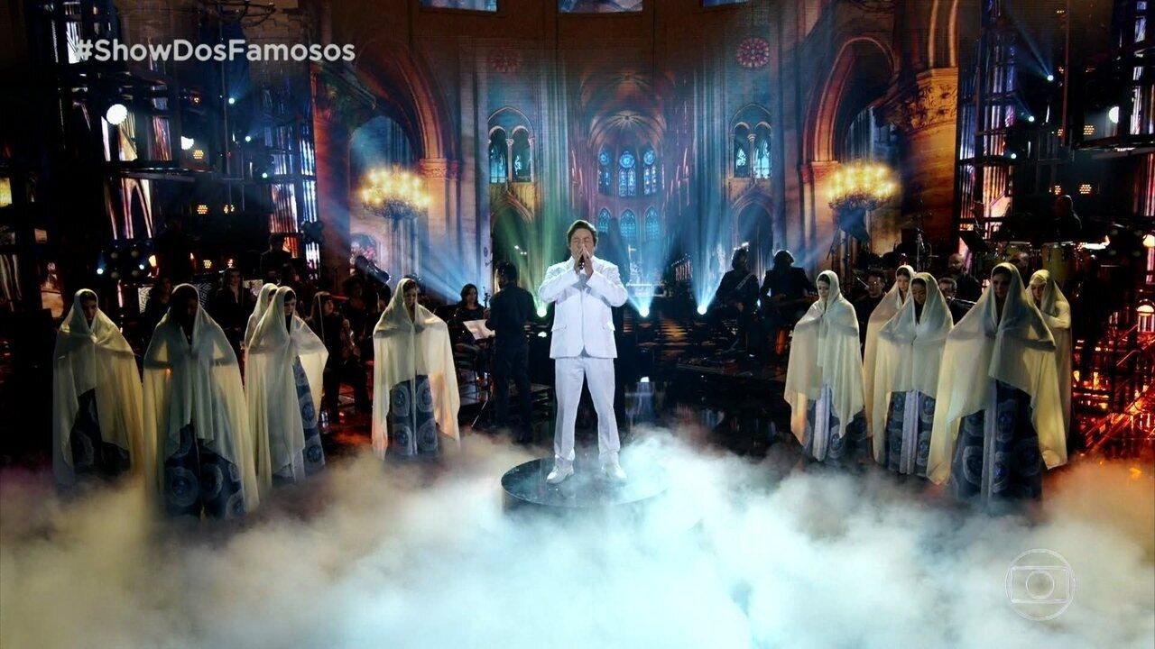 Ceará homenageia Agnaldo Rayol ao cantar 'Ave Maria'