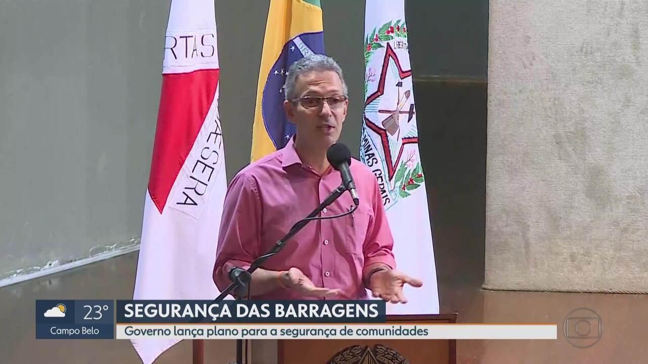 Zema diz que MG vive 'pior momento possível' sobre situação em Barão de Cocais
