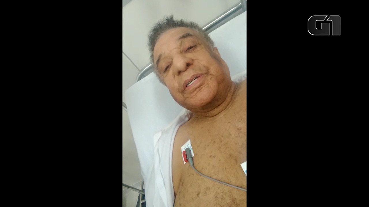 Cantor Agnaldo Timóteo passa mal e é internado em UPA de Barreiras