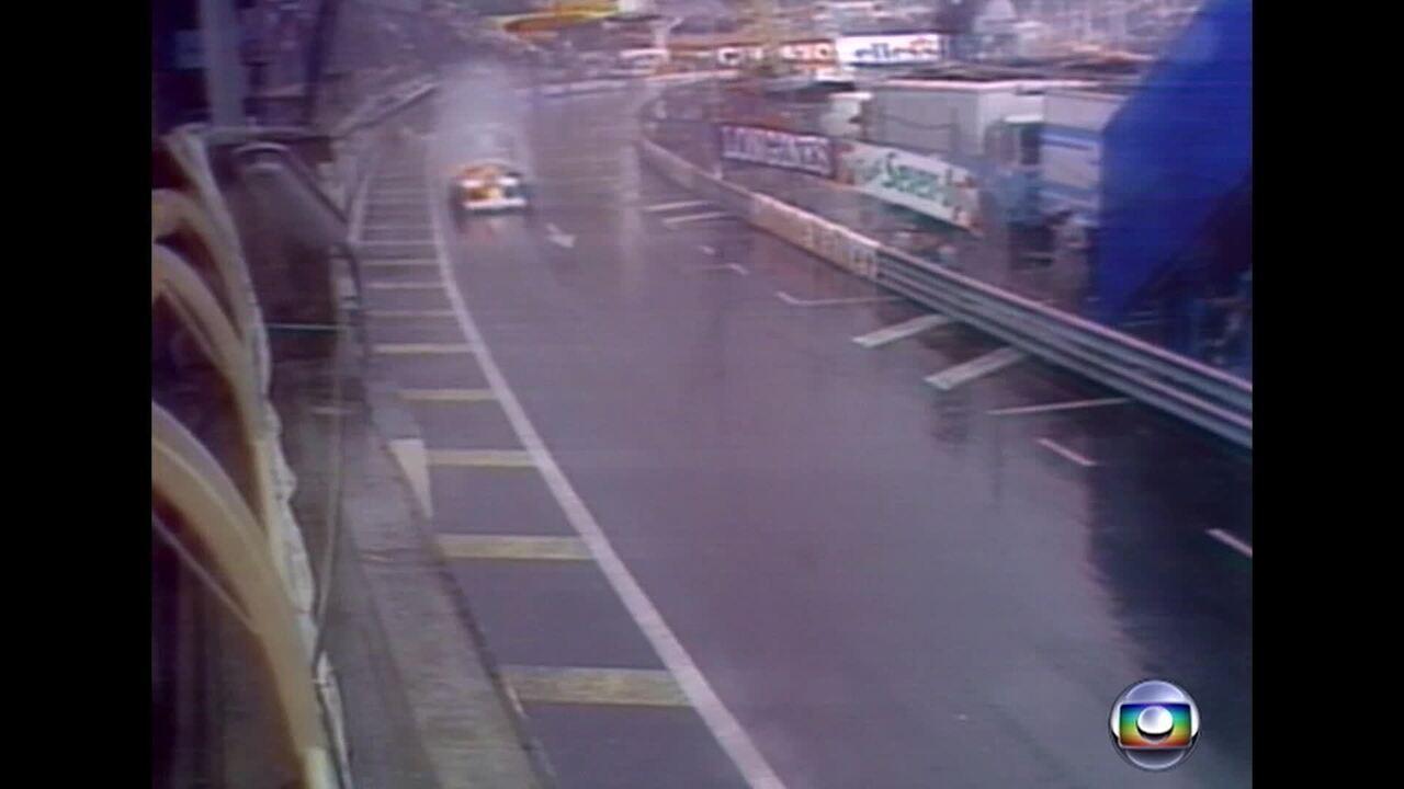 Lauda foi ultrapassado por Senna durante GP de Mônaco de 1984
