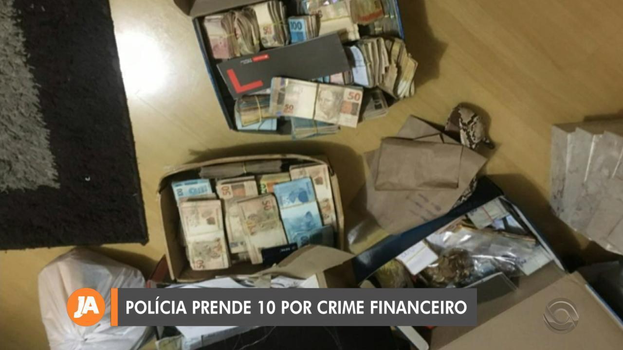 Dez pessoas são presas envolvidas com empresa ilegal de criptomoedas em Novo Hamburgo
