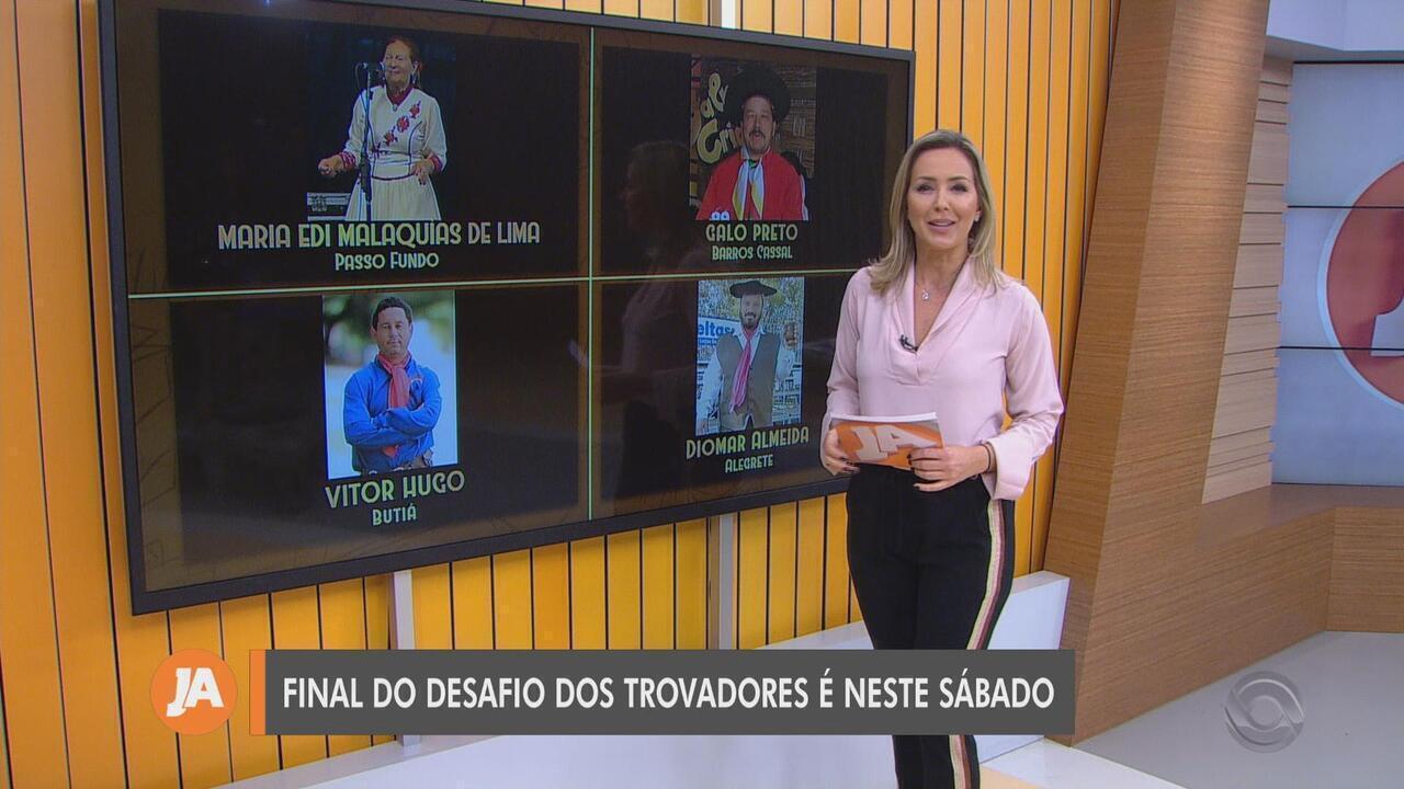 Grande campeão do desafio 'Os Trovadores' foi Vitor Hugo