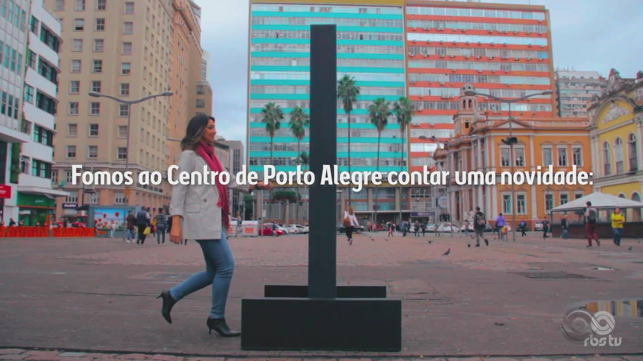 Ações divulgam o 'Posso Entrar?' no Centro de Porto Alegre