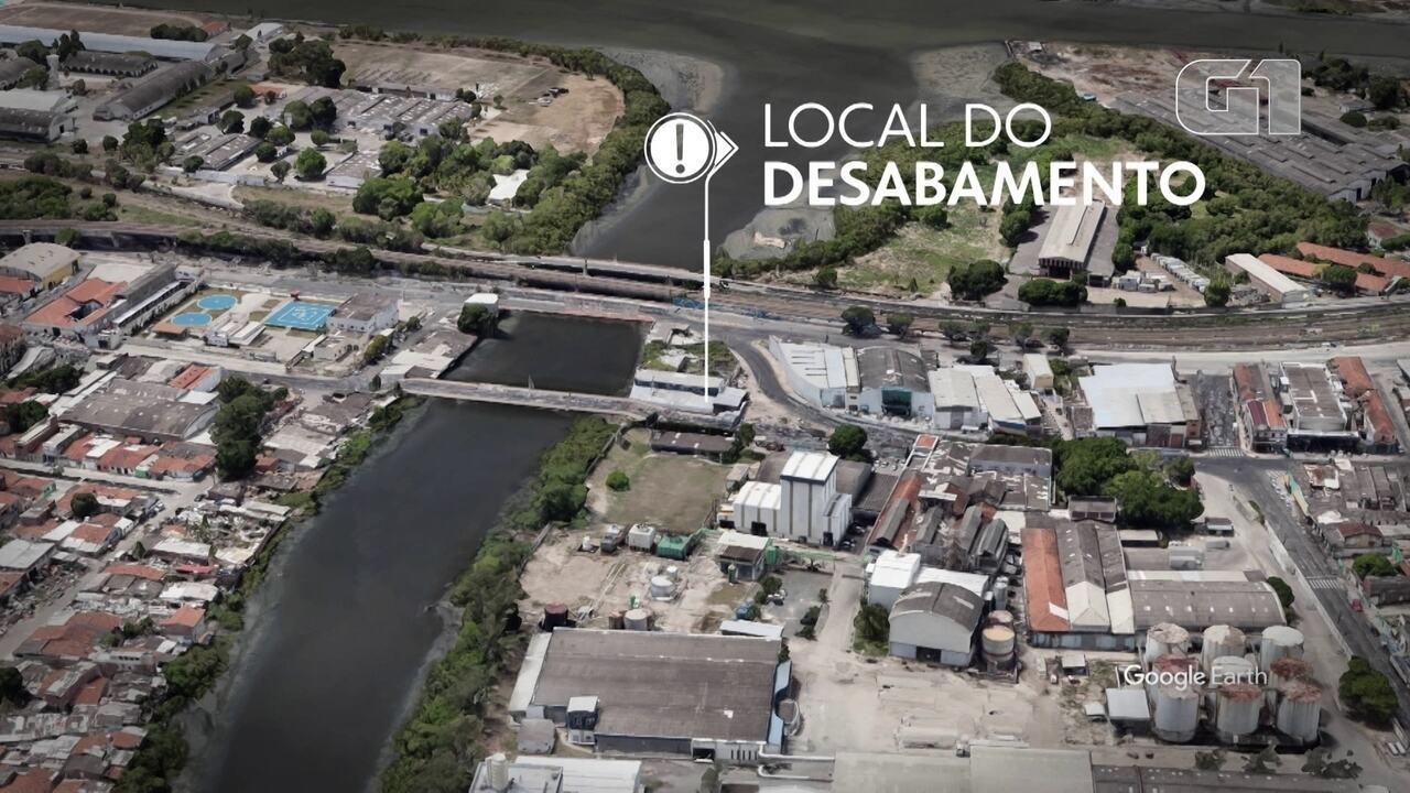 Veja o local onde imóvel desabou no Recife e deixou uma mulher morta, além de feridos