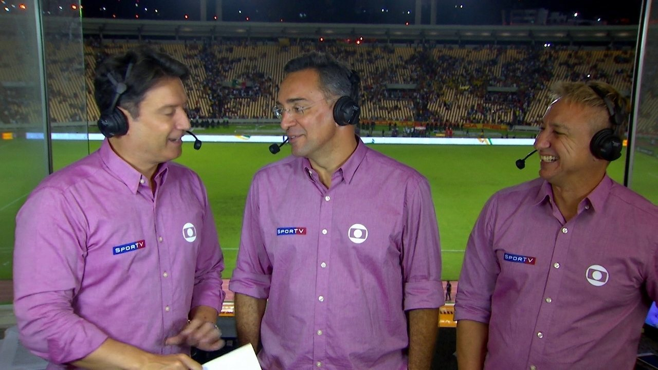 Luiz Carlos Jr, Mauricio Noriega e Paulo Nunes analisam Sampaio Corrêa x Palmeiras
