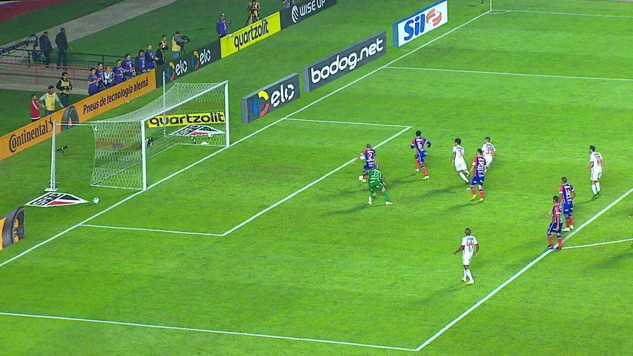 Melhores momentos de São Paulo 0 x 1 Bahia pela Copa do Brasil