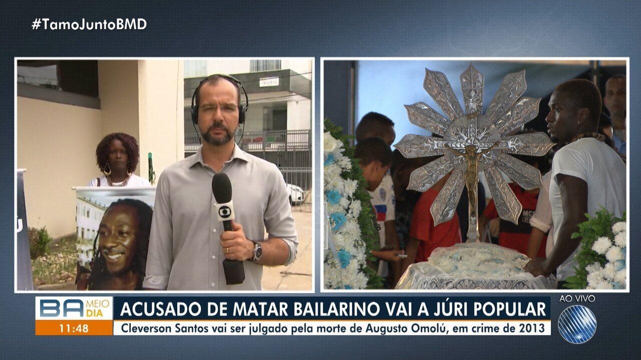 Acusado de matar bailarino vai a júri popular em Salvador