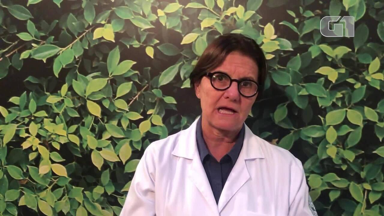Ana Escobar alerta para os riscos do slime