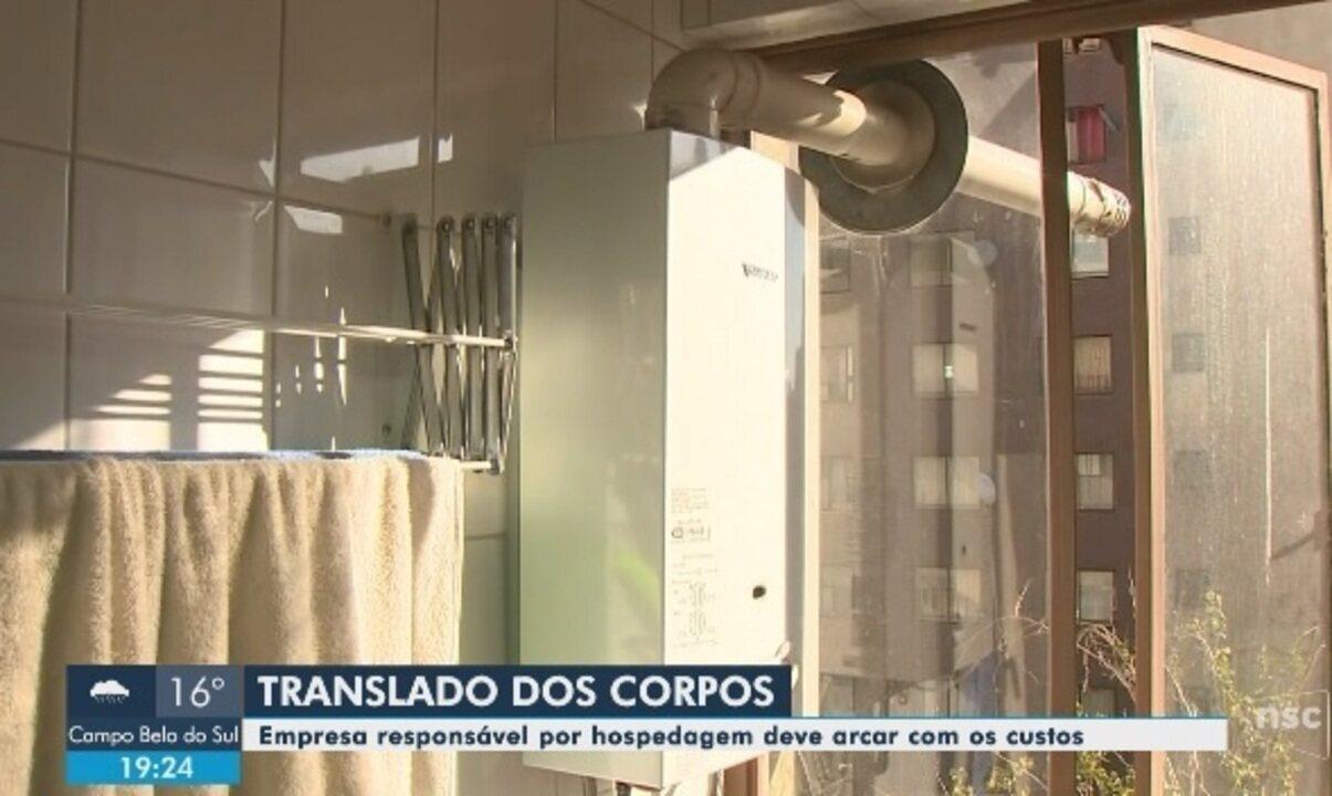 Equipe da NSC TV traz detalhes do apartamento onde catarinenses foram encontrados mortos