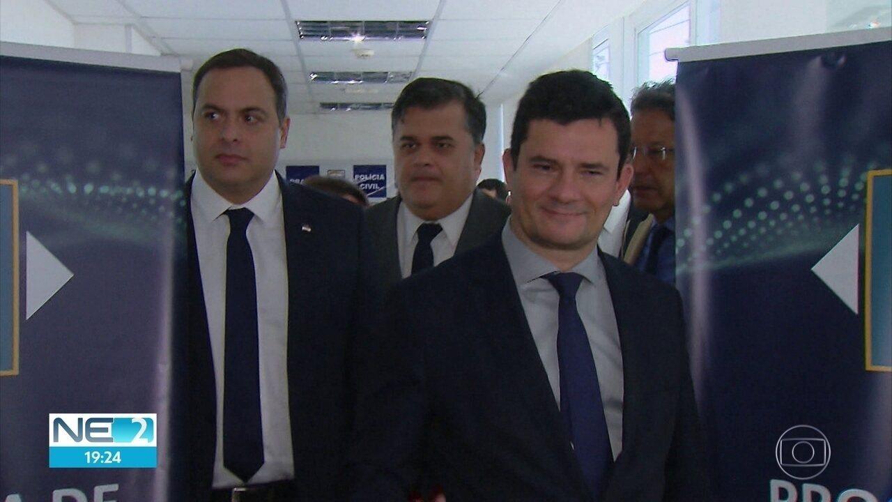 Sérgio Moro participa de reunião do Pacto Pela Vida e promete apoio do governo federal