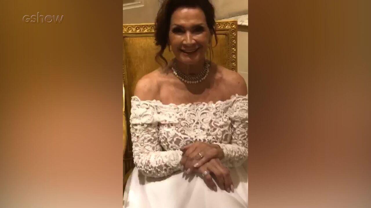 Confira os bastidores do ensaio de noiva com a ex-BBB Ieda Wobeto