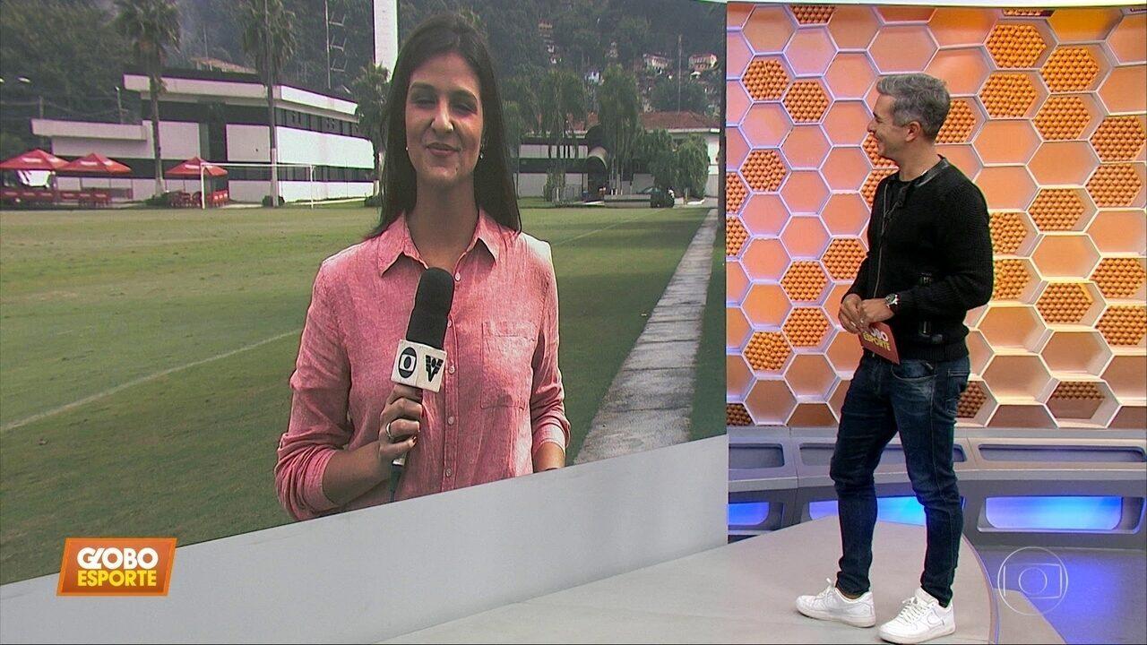 Santos ao vivo: Sampaoli prepara o time para pegar o Inter e espera o reforço de Marinho
