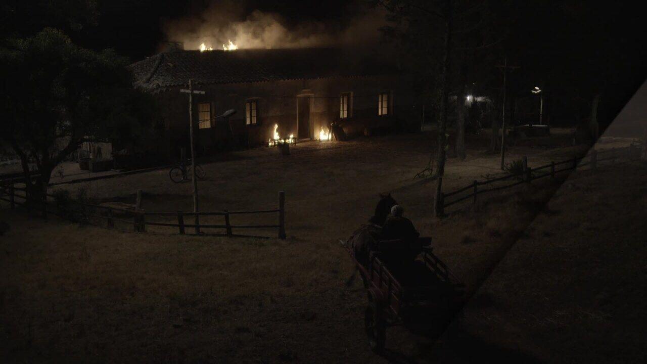 Veja como foi feita cena do incêndio na casa dos Mateus e A Dona do Pedaço