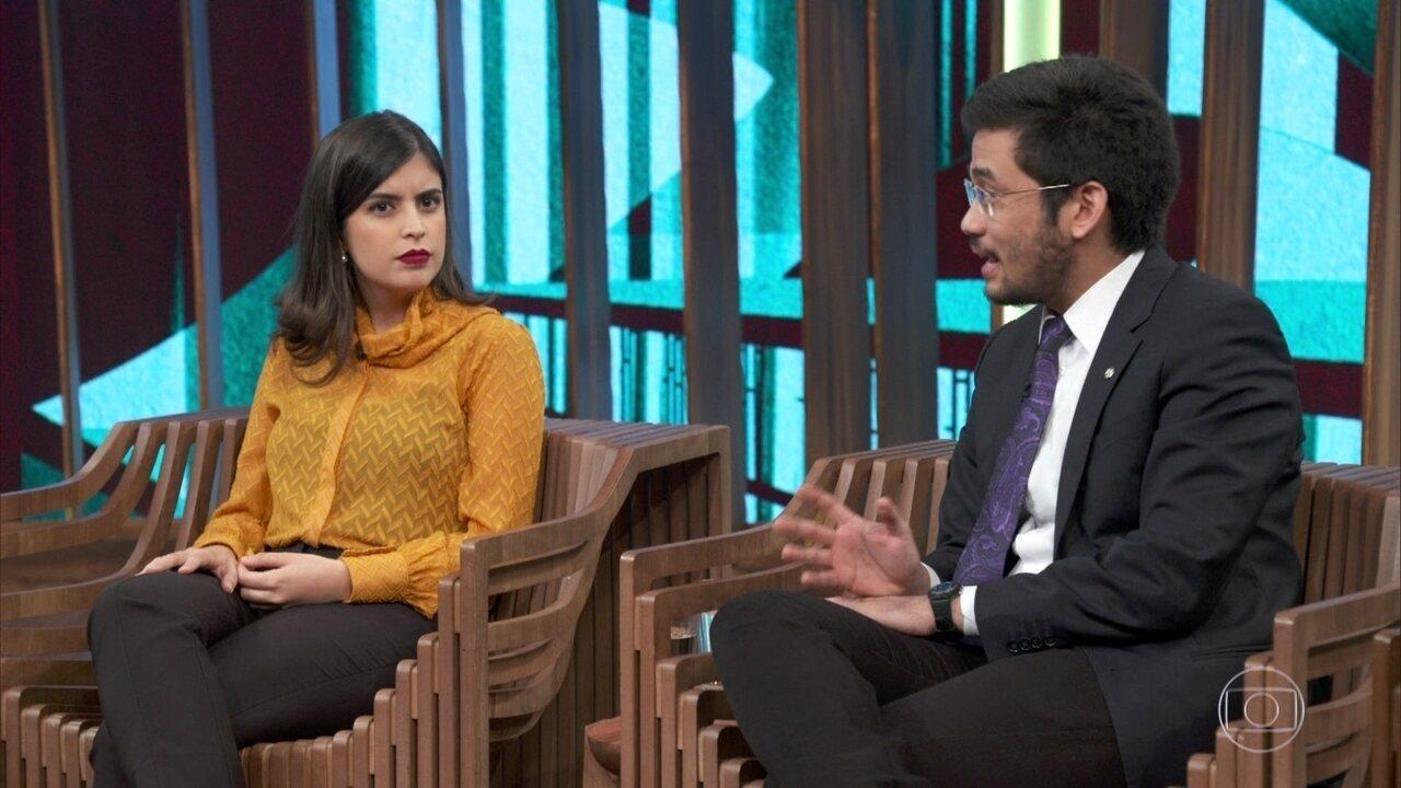 Tabata Amaral e Kim Kataguiri falam sobre Fake News nas eleições