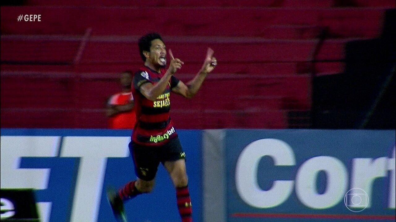Sport vence Londrina com três gols de Hernane Brocador